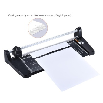 Professional A4 Rotary Paper Trimmer Cutters Guillotine with 10 Sheets Cutting Capacity for School Business Office Supplies - intl - 4