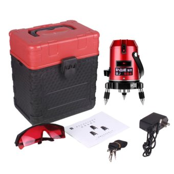Professional Automatic Self Leveling 5 Line 6 Point 4V1H LaserLevel Measure MM - intl - 2