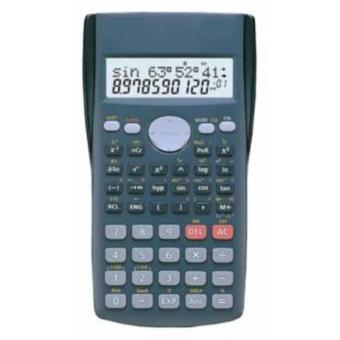 Professional Scientific Calculator for School and Office (Grey)