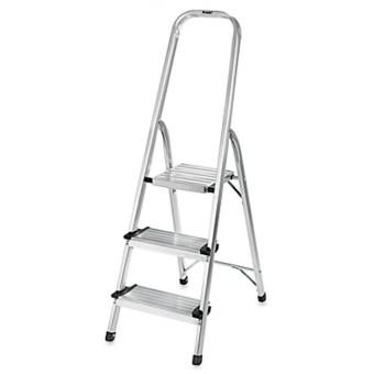 Prostar 2 Step Aluminum Step Ladder (Silver)