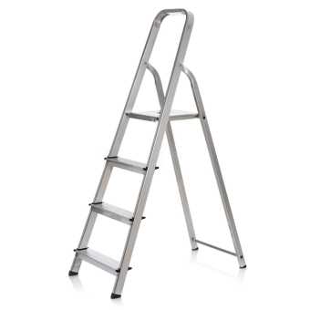 Prostar 3 Step Aluminum Step Ladder (Silver)