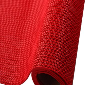 Prostar S Matting (4 Meter Long x 1.2 Meter Wide) PVC Anti SlipRubber Matting (Red) Price Philippines