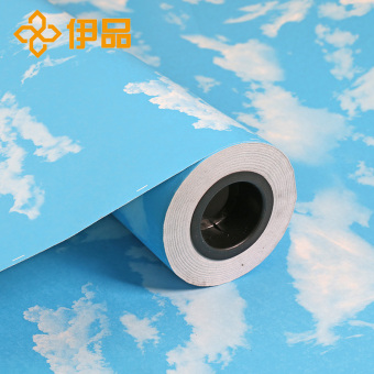 PVC bathroom waterproof self-adhesive wallpaper adhesive paper