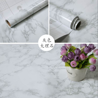 PVC Bizhi Waterproof Wall stickers table adhesive paper