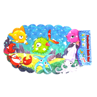 PVC Protection Bath Mat Shell Under the Sea