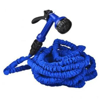 QF Expandable Flexible Garden Hose 25ft (Blue)