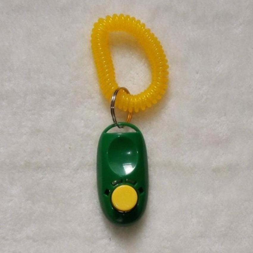 ... QJQ 1Pcs Dog Pet Click Clicker Sound Training Trainer AidwristStrap Multi-Color_ - intl ...