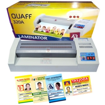 Quaff A3 Laminator Heavy Duty Laminating Machine Lazada Ph