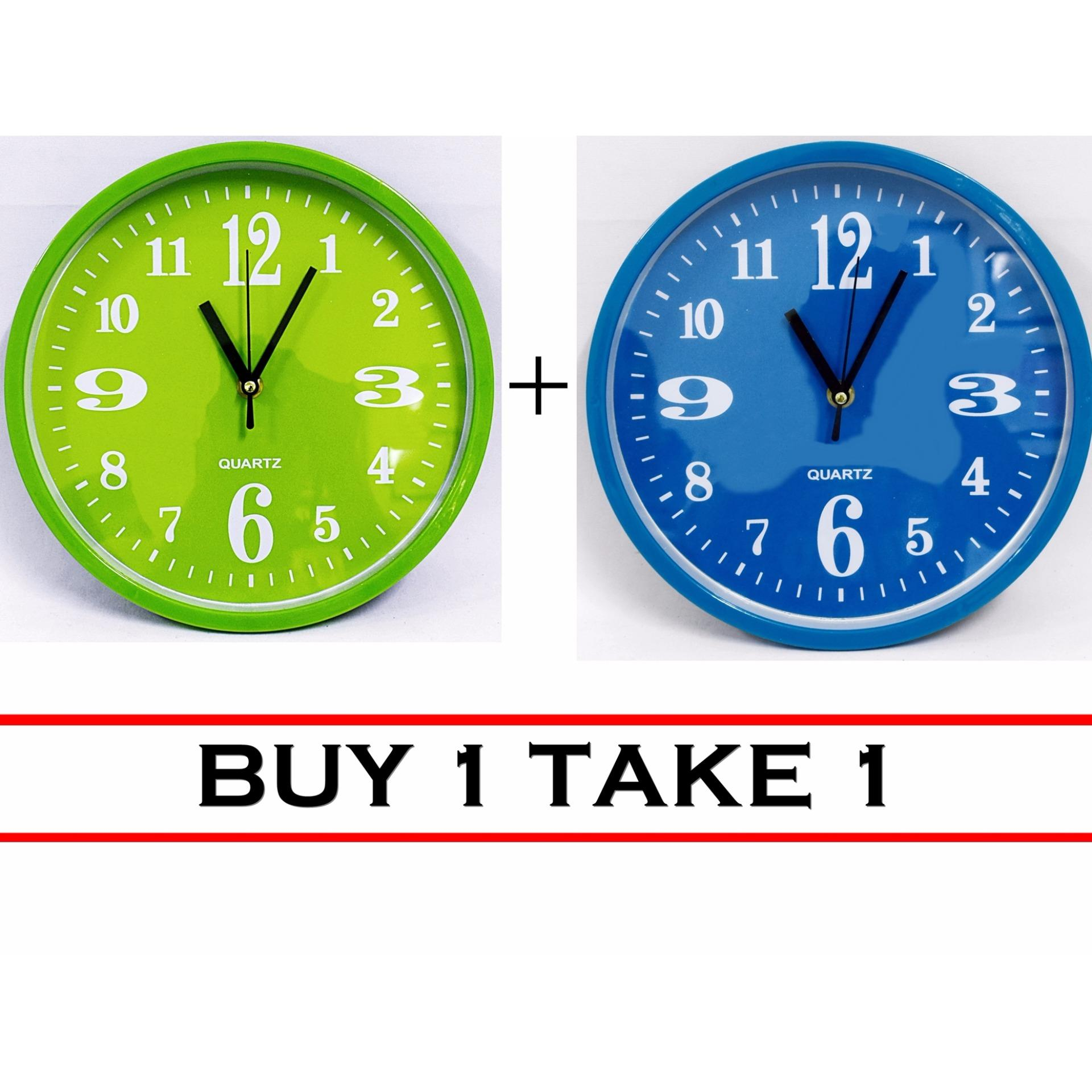Quartz 561 wall clock buy one take one lazada ph amipublicfo Image collections
