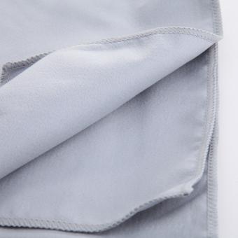Quick-Dry Travel Camping Microfiber Towels Sport Swimming BeachEssential (Light Grey) - Intl - 4