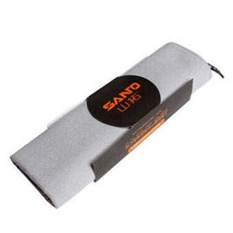 Quick-Dry Travel Camping Microfiber Towels Sport Swimming BeachEssential (Light Grey) - Intl - 2