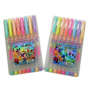 Rainbow Colored Ballpen 8's Set of 2's Price Philippines
