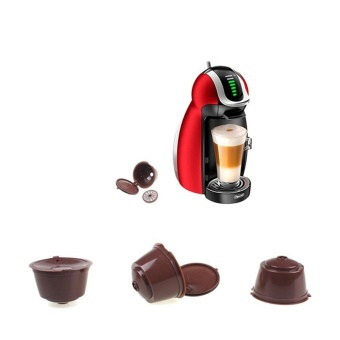 Refillable Dolce Gusto Capsule Reusable Pods Filter Coffee Cup -intl