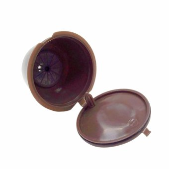 Refillable Dolce Gusto Coffee Capsule Nescafe Dolce Gusto ReusableCapsule Dolce Gusto Capsules(Brown) - intl