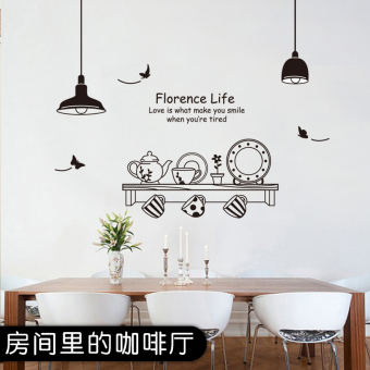 Restaurant Kitchen bar bedroom sticker wall stickers