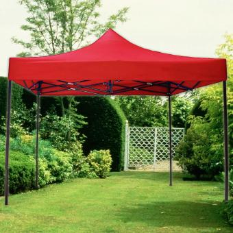 Retractable Foldable Tent Canopy Rainproof Gazebo 2m x 2m (Red) Price Philippines