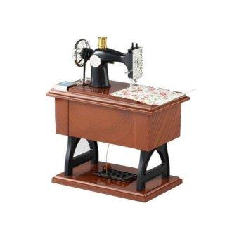 Retro Sewing Machine Music Box - Intl - 2
