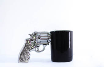 Revolver cool large capacity office mug ceramic cup