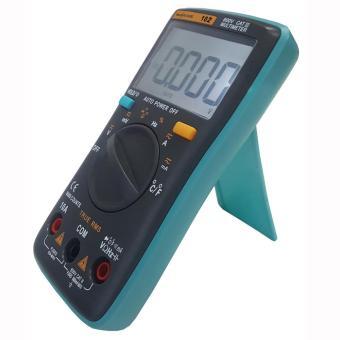 RICHMETERS RM102 True RMS Multifunctional LCD Digital MultimeterDMM DC AC Voltage Current Resistance Diode Capacitance TemperatureTester Measurement Automatic Polarity Identification AmmeterVoltmeter Ohm - intl - 4
