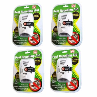 Riddex Quad Digital Pest Repelling Aid (As Seen On TV) SET OF 4