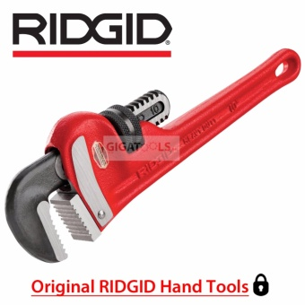 "RIDGID Tools 10"" Heavy-Duty Straight Pipe Wrench (31010)"