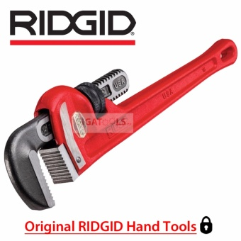 "RIDGID Tools 18"" Heavy-Duty Straight Pipe Wrench (31025)"