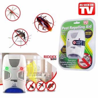 Rising Star Riddex Quad Pest Repelling Aid Repeller Control InsectRat Repellent (As Seen On TV)