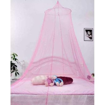 Romantic House Hang Dome Mosquito Net (Pink) Price Philippines