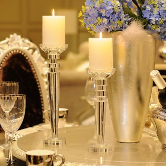 Romantic wedding table candle holder candle Sets
