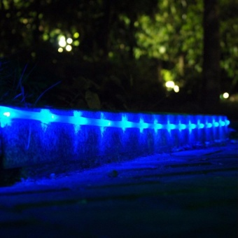 Rope Lights, LTE Solar 100 LED Tube Lights Outdoor Waterproof LightSensor 33ft, 8 Lighting Modes - intl - 4