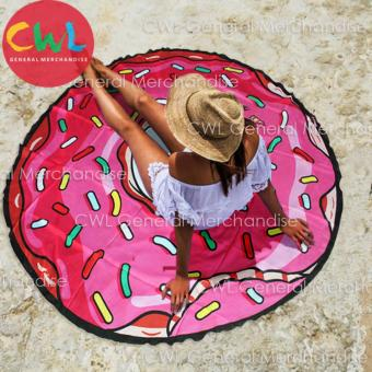 Round Beach Towel Doughnut Design Price Philippines
