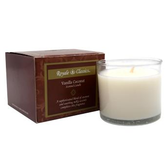 Royale Classics Scented Candle (Vanilla Coconut)