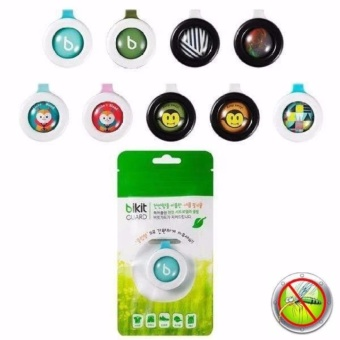Rukia's Bikit Guard Buckle Mosquito Insect Repellent Set of 10(Random Design)