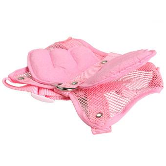 S & F Adjustable Harness Leash Lead Strap Nylon (Pink) (Intl)