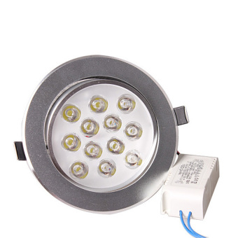 S & F High Power 12W LED Ceiling Downlight Spotlight Recessed Lamp Bulb White (Intl) - picture 2