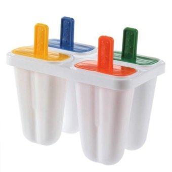 S & F Popsicle Maker Mold DIY Ice Cream Freezer 4Pcs - Intl