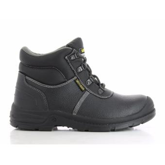 Safety Jogger Bestboy Steel Toe Cap and Steel Midsole Safety Shoes (Black)