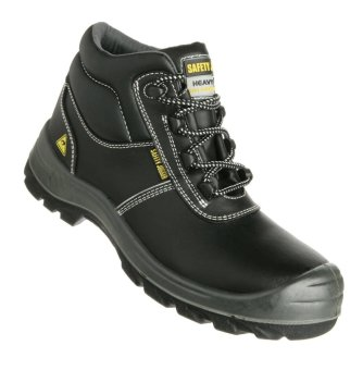 Safety Jogger EOS S3 Hi-Cut ESD Safety Shoes (Black)