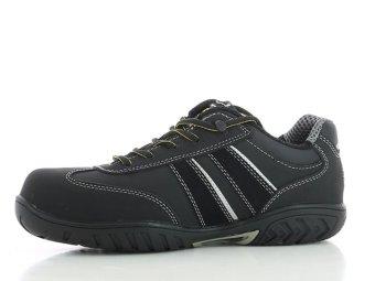 Safety Jogger Lauda Composite Toe Cap and SJ Flex Midsole Safety Shoes (Black) - 2