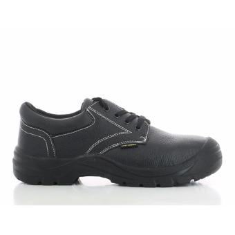 Safety Jogger Safetyrun Steel Toe Cap and Steel Midsole Safety Shoes (Black)
