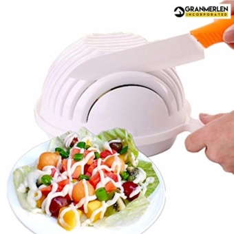 Salad Cutter Bowl, Prepare Salad in 60 seconds