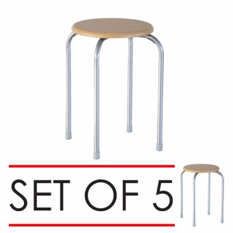 San-Yang Stool FFS20004 (Set of 5)