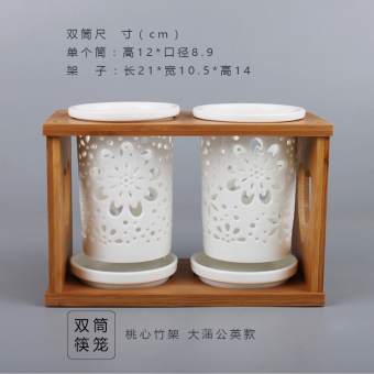Santongdebaba chopsticks box chopsticks holder chopsticks barrel chopsticks Tube