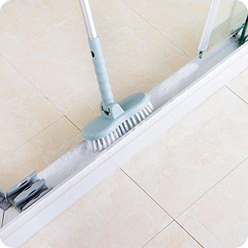 ... Scalable Rotatable Long Handle Brush Bathroom Floor/Wall/Bathtub  Plastic Hard Stain Remover Dust ...