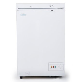 Scan SB106 4 cu. ft. Solid Door Chest Freezer (White)