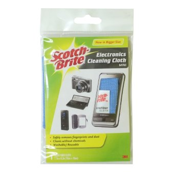 Scotch-Brite Electronics Cleaning Cloth Mini (Grey)