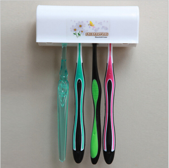 Seat couple's strong suction with lid toothbrush rack toothbrush holder