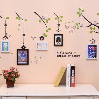 Self-adhesive wall stickers Living Room Restaurant decorative Frame