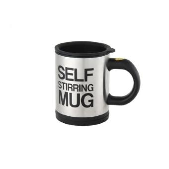Self Stirring Coffee Mug (black)