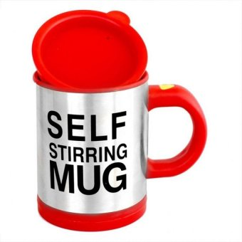 Self Stirring Mug (Red)
